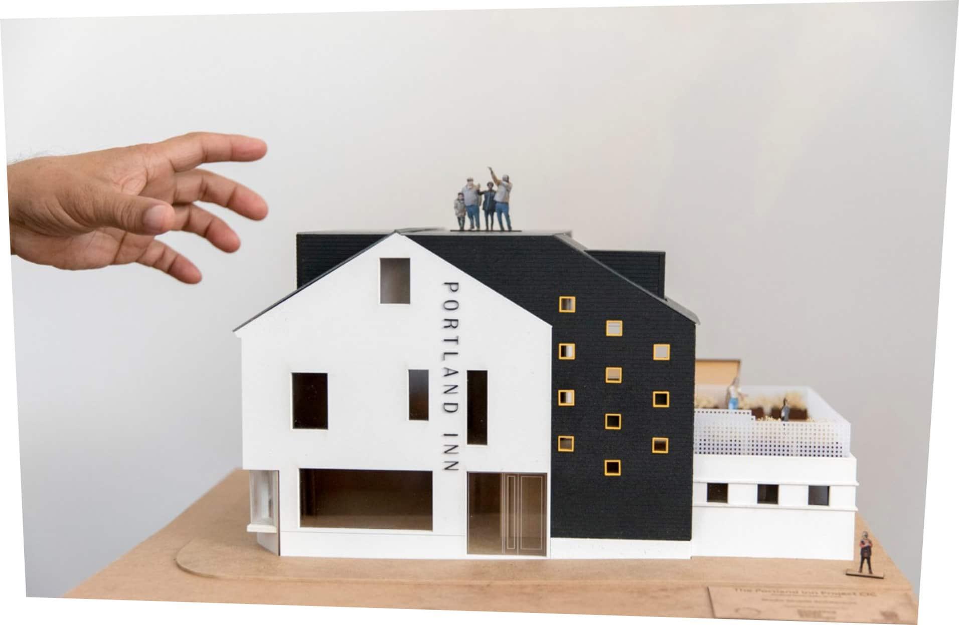 model of pub